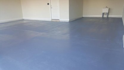 painted garage floor